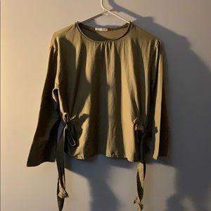 Women's Zara Medium Crop Top shirt